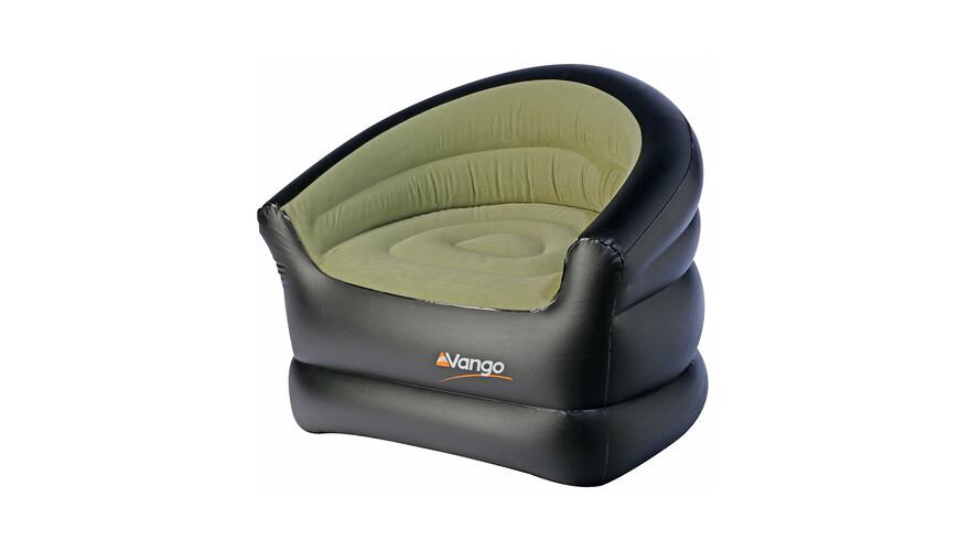Vango Inflatable Chair Campingstol grøn/sort